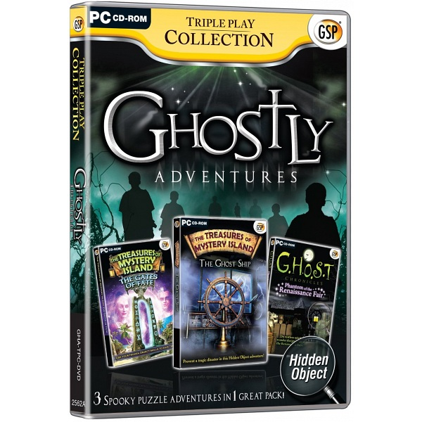 Open Box Pc Game Gsp Triple Play Collection Ghostly