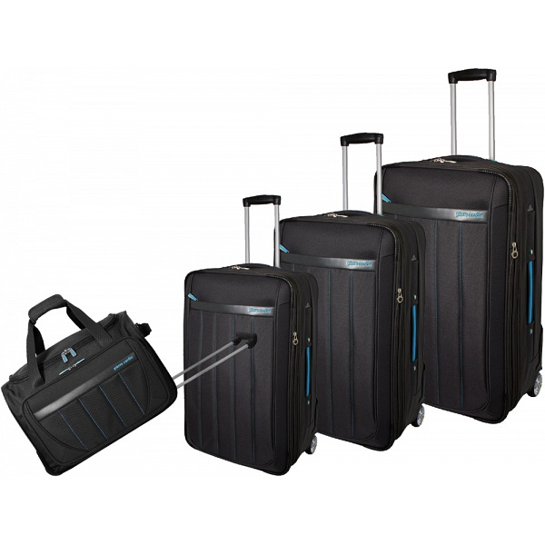 Pierre Cardin Altura 4 Piece Suitcase Luggage Set
