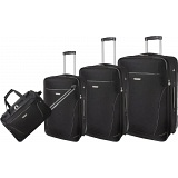Pierre Cardin Isos 4 Piece Expanding Luggage / Suitcase Set