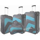 Pierre Cardin Sirocco 4 Piece Expanding Luggage / Suitcase Set