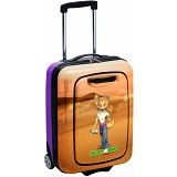Eva Dee the Fennec Fox PlayAway Case with PlayPod / Childrens Luggage