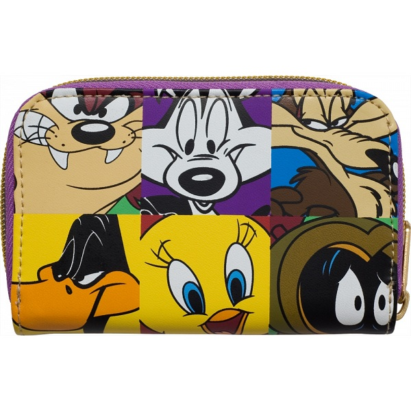 Pop Art Products Looney Tunes Zip Around Character Purse