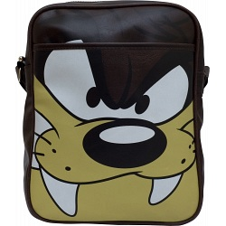 Pop Art Products Looney Tunes Taz Retro Style Vertical Flight Bag