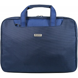 "Port Designs Lugano Fashion 15.4"" Blue Laptop Bag / Sleeve"