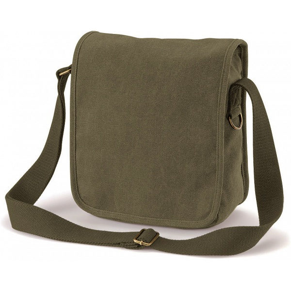 Quadra Canvas Compact Reporter Small Shoulder Bag