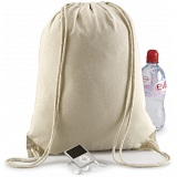 Quadra Organic Cotton Gymsac / Rope Draw Rucksack