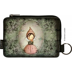 Santoro London Eclectic Pursuit Of Happiness Slim Zip Coin Purse