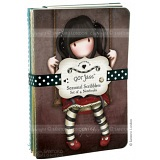 Gorjuss Set of 4 Seasonal Scribblers / Notebooks