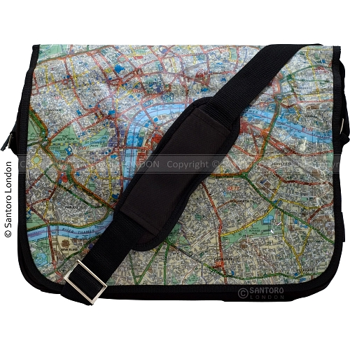 London Map Bags