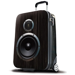 SUITSUIT Boom Box Speaker Suitcase
