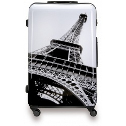 "SUITSUIT 24"" Paris ABS Trolley Case / 4 Wheel Spinner Suitcase"