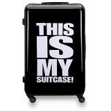 "SUITSUIT 24"" Statement ABS Trolley Case / 4 Wheel Spinner Suitcase"
