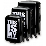 "SUITSUIT Statement Hard Shell ABS 3 Piece Luggage Set - 20"" / 24"" / 28"""