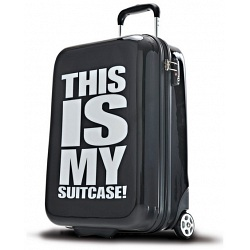 SUITSUIT This Is My Suitcase! Print Suitcase