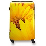"SUITSUIT 28"" Sunflower ABS Trolley Case / 4 Wheel Spinner Suitcase"