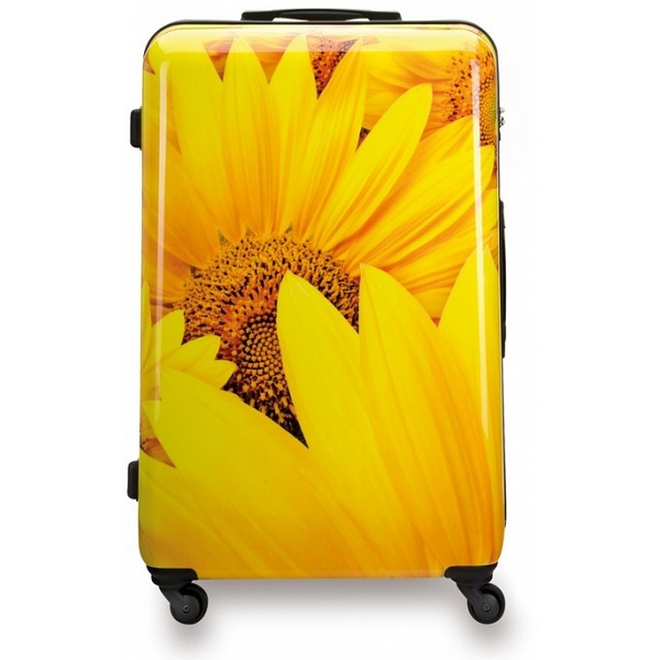 Suitsuit Sunflower Hard Shell Abs 3 Piece Luggage Set 20