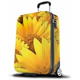 """SUITSUIT 20"""" Sunflower ABS Wheel Aboard Trolley Case / Suitcase"""