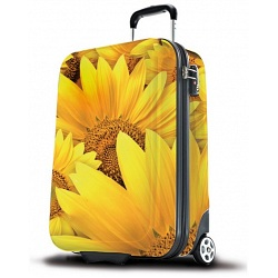 "SUITSUIT 20"" Sunflower ABS Wheel Aboard Trolley Case / Suitcase"