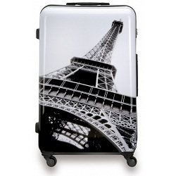 "SUITSUIT 28"" Paris ABS Trolley Case / 4 Wheel Spinner Suitcase"