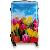 "SUITSUIT 24"" Tulips ABS Trolley Case / 4 Wheel Spinner Suitcase"