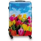 "SUITSUIT 28"" Tulips ABS Trolley Case / 4 Wheel Spinner Suitcase"