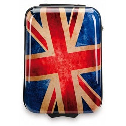 "SUITSUIT 20"" Union Jack ABS Hard Shell Carry-On Trolley Case / Suitcase"