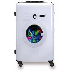 "SUITSUIT 24"" Washing Machine ABS Trolley Case / 4 Wheel Spinner Suitcase"