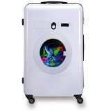 "SUITSUIT 28"" Washing Machine ABS Trolley Case / 4 Wheel Spinner Suitcase"