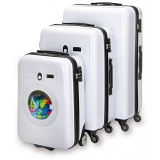"SUITSUIT Washing Machine Hard Shell ABS 3 Piece Luggage Set - 20"" / 24"" / 28"""