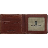 Tumble & Hide Two Fold Mens Leather Card Wallet
