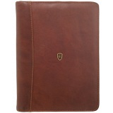 Tumble & Hide Lucera A4 Leather Zip Around Conference Folder