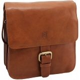 Tumble &amp; Hide Novara Leather Across Body Cartridge Bag