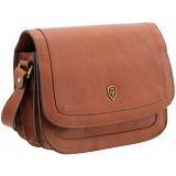Tumble &amp; Hide Trento Triple Gusset Flap Over Leather Bag