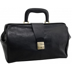 Tumble & Hide Biella Leather Doctors Bag / Holdall