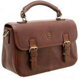 Tumble &amp; Hide Leather Satchel Grab Bag