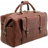 Tumble & Hide Leather Overnight Holdall Bag