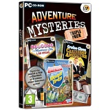 Open Box PC Game - GSP Adventure Mysteries Triple Pack Hidden Objects Game