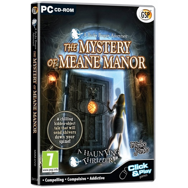 Open Box Pc Game Gsp The Mystery Of Meane Manor Hidden