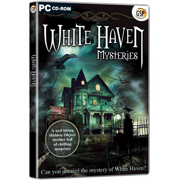 Open Box Pc Game Gsp White Haven Mysteries Hidden Object