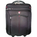 "Wenger Swiss Gear Vertical Roller Travel Case / 17"" Laptop Suitcase"