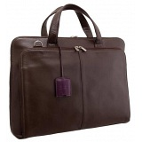 Yoshi Arlington Ladies Business Laptop Briefcase / Leather Grab Bag