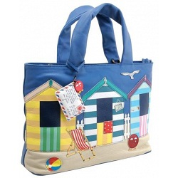Yoshi Hampton Limited Edition Beach Hut Leather Grab Bag / Handbag
