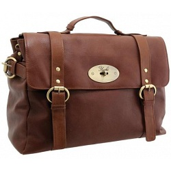 Yoshi Beatrice Large Flapover Business Satchel / Briefcase Bag