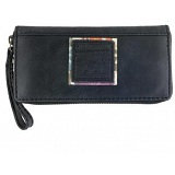 Yoshi Bridgette Hope Springs Leather Zip Round Purse with Coin Pocket