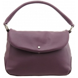 Yoshi Brody Flap Over Leather Shoulder Bag / Handbag