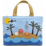 Yoshi Hampton Castaway Limited Edition Leather Grab Bag / Handbag