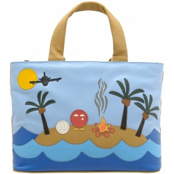 Yoshi Castaway leather grab bag Y26-CA