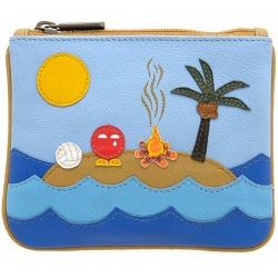 Yoshi Castaway Limited Edition Leather Coin Purse