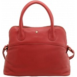 Yoshi Eaton Medium Size Dome Shaped Grab Bag / Leather Handbag