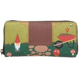 Yoshi Garden Gnome Limited Edition Leather Purse with Coin Pocket